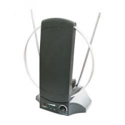 Antena interior de TV con amplificador. Mod. 60.261