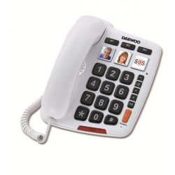 Telefono Daewoo sobremesa dtc-760 blanco. Mod. DW0057