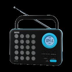 RADIO DIGITAL AM/FM USB SD AZUL DAEWOO. Mod. DRP-120BL