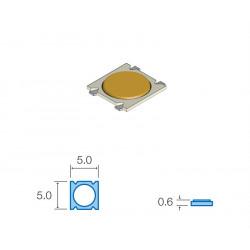 Pulsador de tacto SMD 5X5X0.6 MM. Mod. SW037