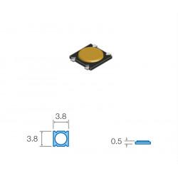 Pulsador de tacto SMD 3.8X3.8X0.5 MM. Mod. SW038