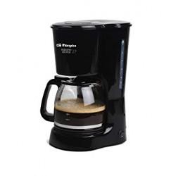 Cafetera antigoteo 15 Tazas Negro ORBEGOZO. MOD. CG 4024