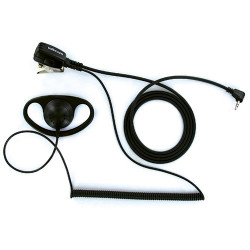 Auricular con micrófono sujeción para walkie talkie Talkcom. Auricular Tipo D. Mod. FNTN8005