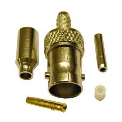 Conector BNC hembra crimpar RG-174U. Mod. 3675