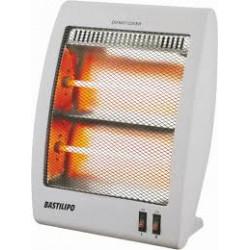 Estufa radiador de cuarzo 800 w Bastilipo. Mod. RQ-800