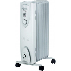 Radiador de fluido térmico 7 elem. 1500W Bastilipo. Mod. RAC7-1500
