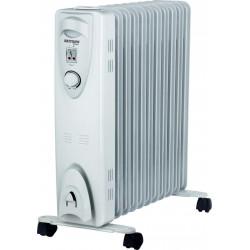 Radiador de fluido térmico 11 elem. 2500W Bastilipo. Mod. RAC11-2500