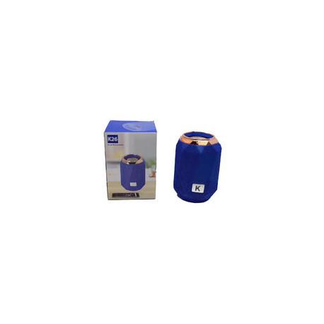 Altavoz portátil bluetooth colores. Mod. K26