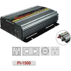 Inversor de 24vdc a 230Vca 1500W onda modificada. Mod. PI150024