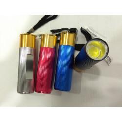 LINTERNA LED BOLSILLO COB COLORES. Mod. SD-0535