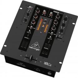 Mezclador DJ compacto de 2 canales Behringer. Mod. NOX101