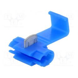 Conector enchufe rápido IDC 1,5÷2,5mm2 azul. Mod. ST-100/B