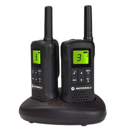 Pareja walkie talkies de 8 km Motorola. Mod. T61