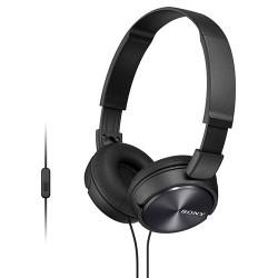 Auriculares de diadema con micrófono color negro Sony. Mod. MDRZX310APB