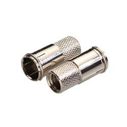 Conector F macho conexión rápida para cable Ø7mm. Mod. 1486