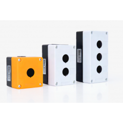 Caja superficie para botones y selectores 1 agujero. Mod. AS3SPB1
