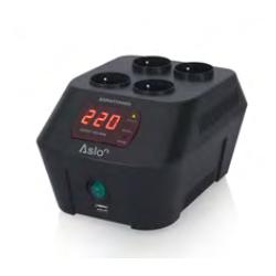 Regulador estabilizador tensíon automático 100-260V 1000VA. Mod. ASRATD1000