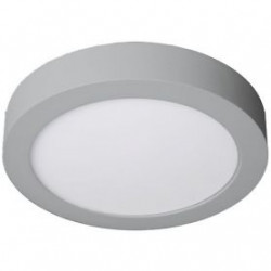 Downlight LED 12W redondo cromo superficie 6000K. Mod. 261230CW