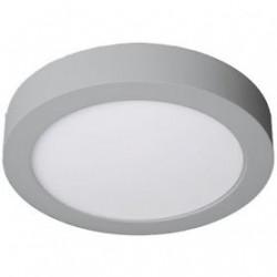 Downlight LED 12W redondo cromo superficie 6000K. Mod. 261230CW