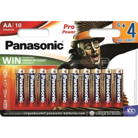 b1a96d16c Pack de pilas alcalinas AA Panasonic LR06PPG10B - ECOBADAJOZ DON BENITO