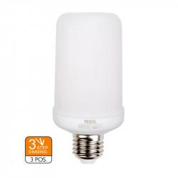 Lámpara Led Efecto Llama E27 5W. Mod. 0239
