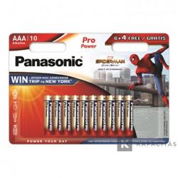 Pack de pilas alcalinas AAA Panasonic LR03PPG10B
