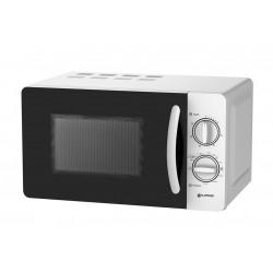 Microondas con grill de 20L blanco Grunkel. Mod. MWG-20 HW