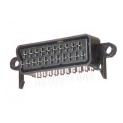 Base hembra circuito impreso euroconector (peri). Mod. 10.356