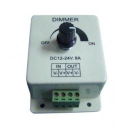 Regulador de intensidad para tiras LED 12-24V 8A. Mod. 81.056