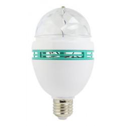 Bombilla LED DISCO RGB.3W.E27 PSICODELIC. Mod. 81.209/RGB/1