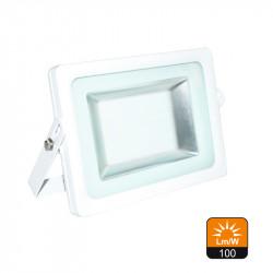 Proyector Led SMD 2835 Aluminio Blanco 15W IP65 4500K. Mod. 7054