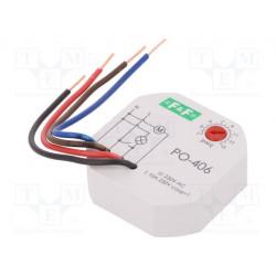 Relé temporizador 10A 230VCA 1-15 min. Mod. PO-406