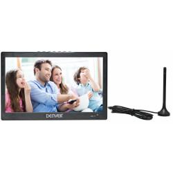 """Televisor LED portátil TFT / LCD 10.1"""" 1024x600 Denver. Mod. LED-1031"""