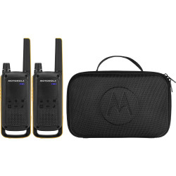 Pareja de walkie talkies 10km Motorola. Mod. T82 EXTREME