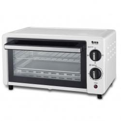 Mini horno tostador blanco 10l 800W. Mod. TMPHO001WH