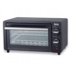 Mini horno tostador negro 10l 800W. Mod. TMPHO001BK