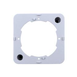 Base de plástico de superficie para tomas Tecatel. Mod. TBA-01
