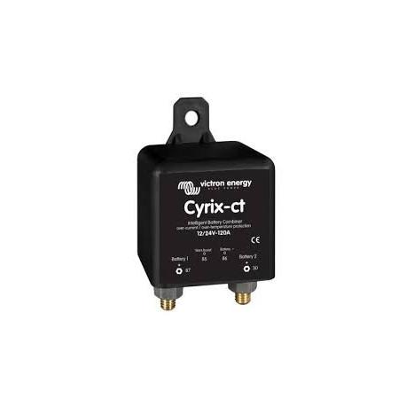 12//24/V Victron 120/A Combinador de bater/ías inteligente Cyrix-CT