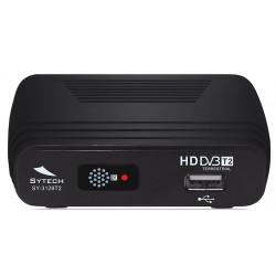 Receptor TDT HD DVB-T2 grabador USB SYTECH. Mod. SY-3129T2