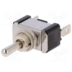 Interruptor de palanca 3 posiciones ON-OFF-ON 20A/12VDC. Mod. R13-7-01