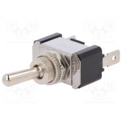 Interruptor de palanca 2 posiciones OFF-ON 20A/12VDC. Mod. R13-5-01