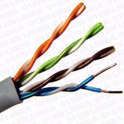 CABLE Cat.5e UTP RIGIDO 100Mhz