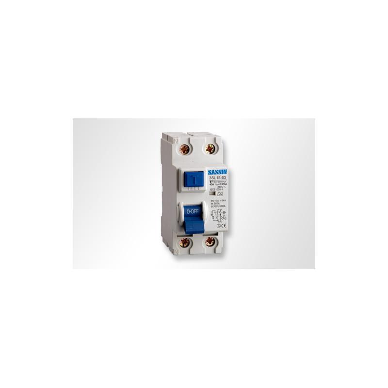 Revalco Interruptor diferencial SUPERINMUNIZADO 2P 25A 30mA RV31 Clase A.