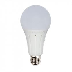Lámpara Led A80 Aluminio y Termoplástico E27 24W 6000K. Mod. 0236