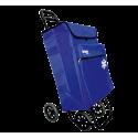 Carro compra 4 ruedas con Bolsa térmica 50l azul Bastilipo. Mod. JULIAAZUL