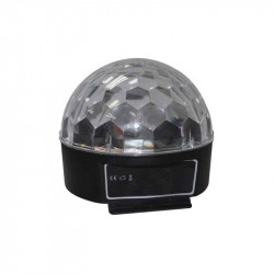 Efecto LED de 6W RGB ACOUSTIC CONTROL. MOD. MAGIC BALL