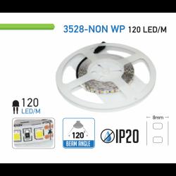Tira de LED 12V 5 metros IP20 3528SMD 6400K. Mod. V3026