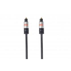Conexión Fibra Óptica TOSHLINK Macho-Macho 2m DCU. Mod. 30751030