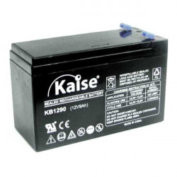 Batería plomo AGM 12V 9Ah Kaise. Mod. KB1290F1