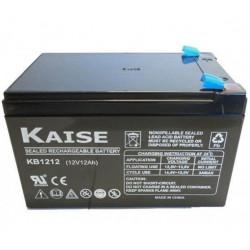 Batería plomo AGM 12V 12Ah Kaise. Mod. KB12120F1
